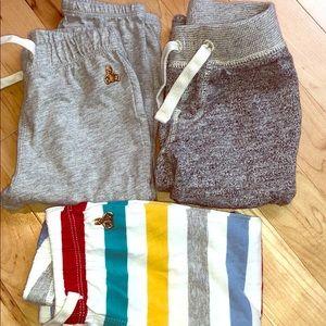 Bundle of three baby boy GAP sweat pants